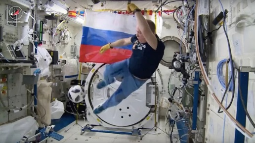 Watch How Cosmonauts Play Soccer in Space