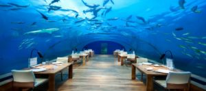 Maldives is set to become home to the world's largest underwater restaurant