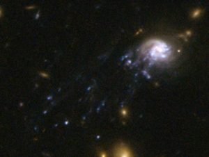 found with the Hubble Space Telescope