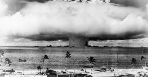 it was the site of 23 nuclear tests performed by the US military between 1946 and 1958