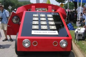 Telephone Car