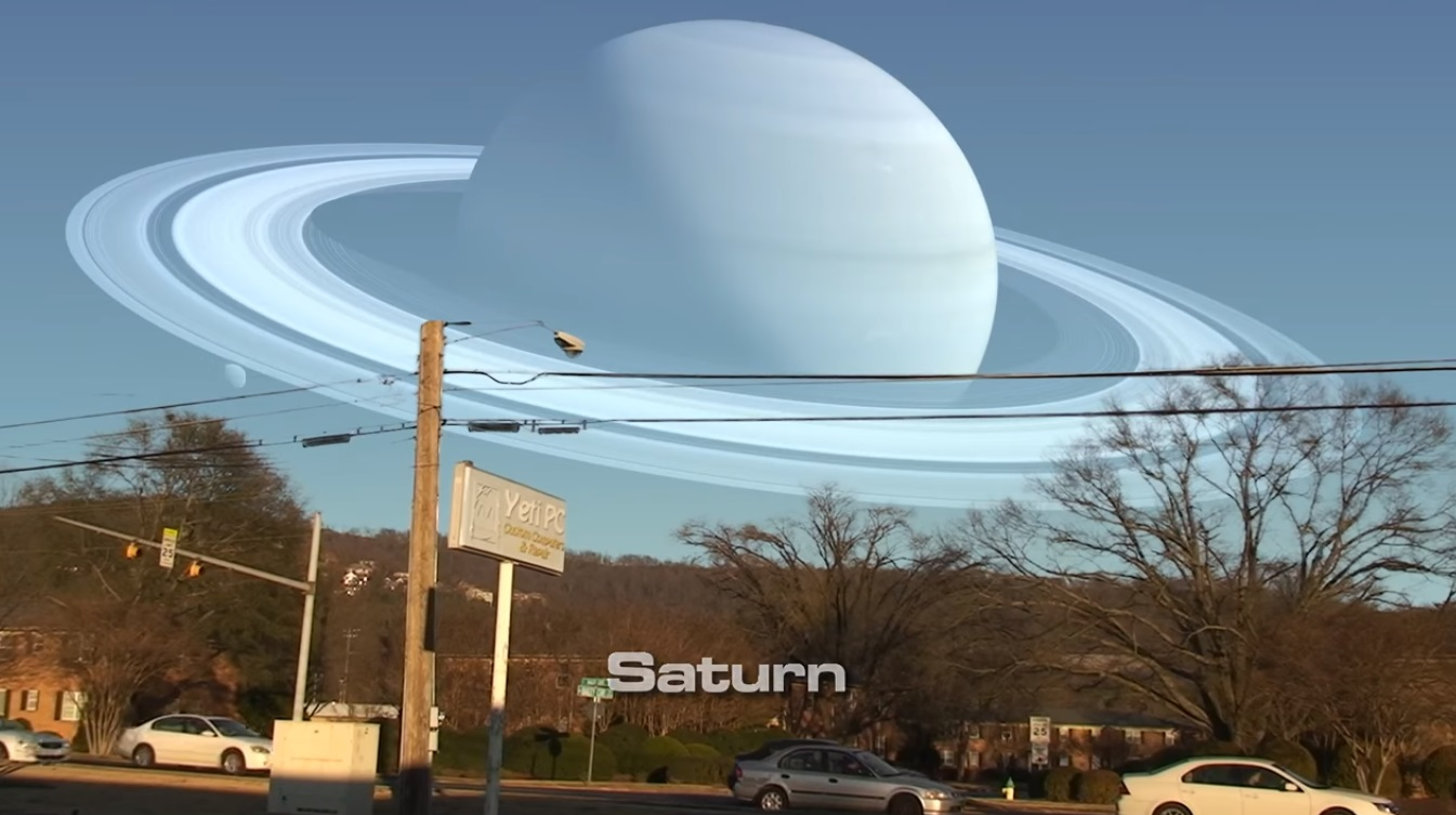 What If Other Planets Were as Close as the Moon?