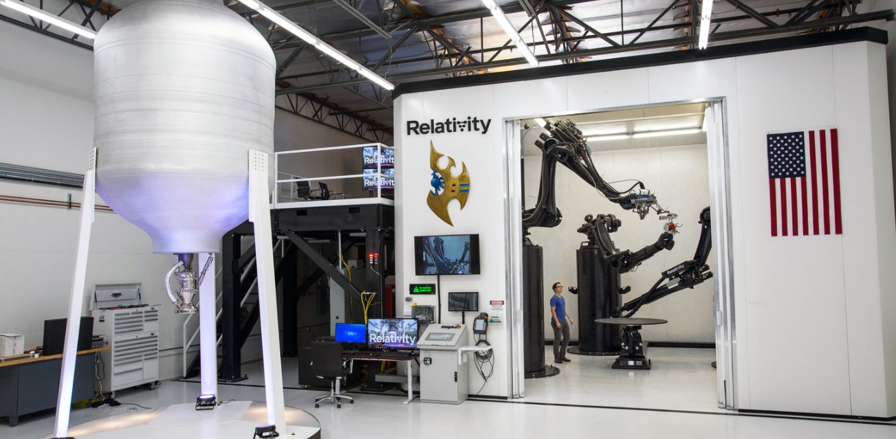 Relativity Is Creating the First Autonomous Rocket Factory