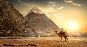 The Great Pyramid of Giza is the oldest and largest of the three pyramids in the Giza pyramid