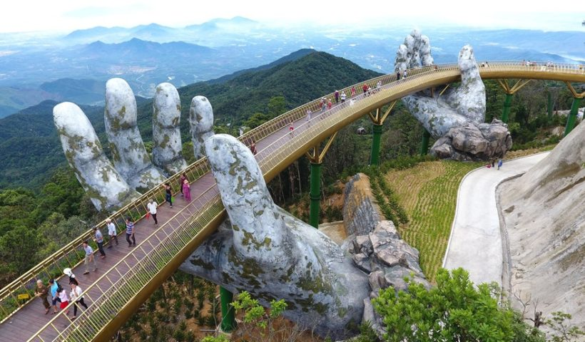 Golden Bridge in Vietnam Will Provide You Unforgettable Moments Ever