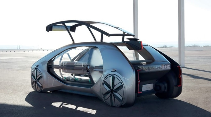 Incredible Concept Renault EZ-Go Car Is a Robot Taxi in Future