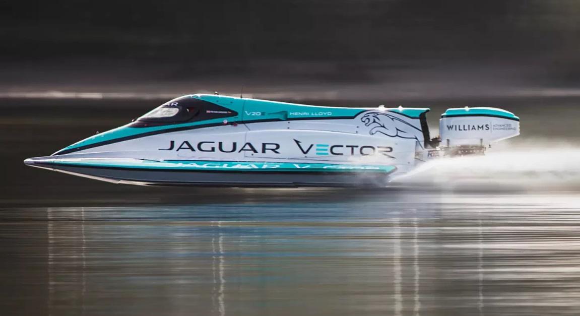Jaguar Electric Boat Breaks Speed Record
