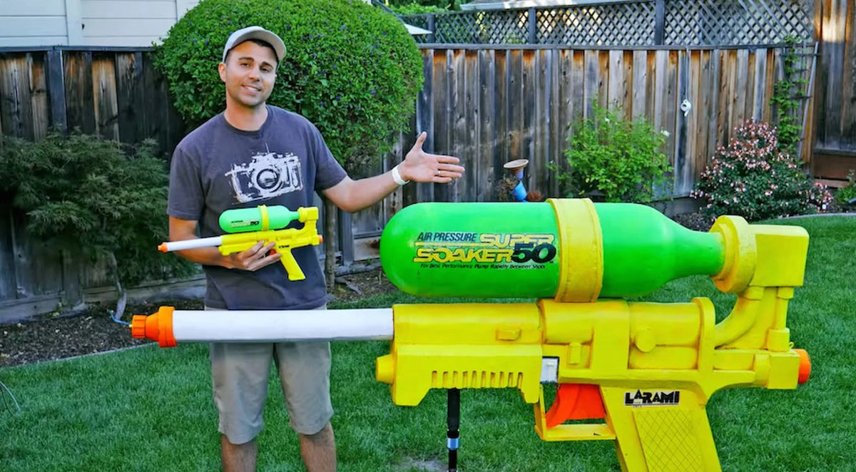 NASA Engineer Creates The Largest Water Gun Ever