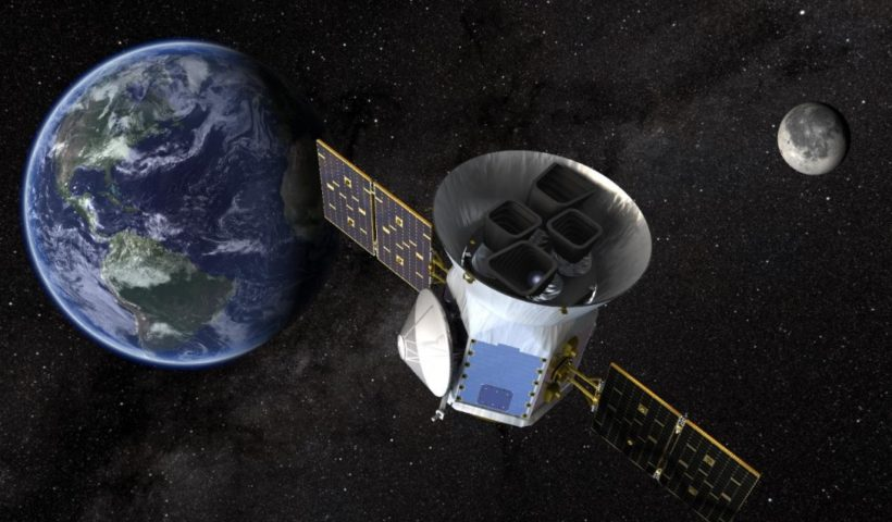 Search New World with Planet-Hunter Transiting Exoplanet Survey Satellite