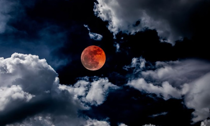 What Was the Distance Between Mars and Earth During Longest Lunar Eclipse