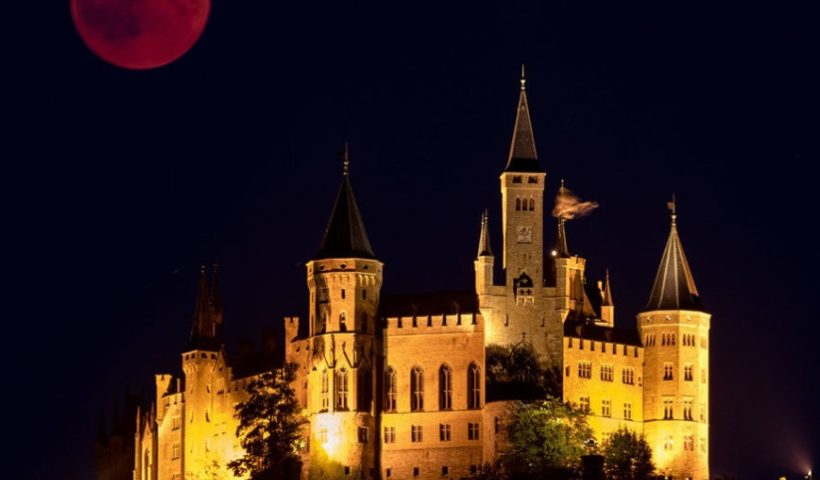 Blood Moon 2018 the Longest Lunar Eclipse in 21 Centaury in Photos