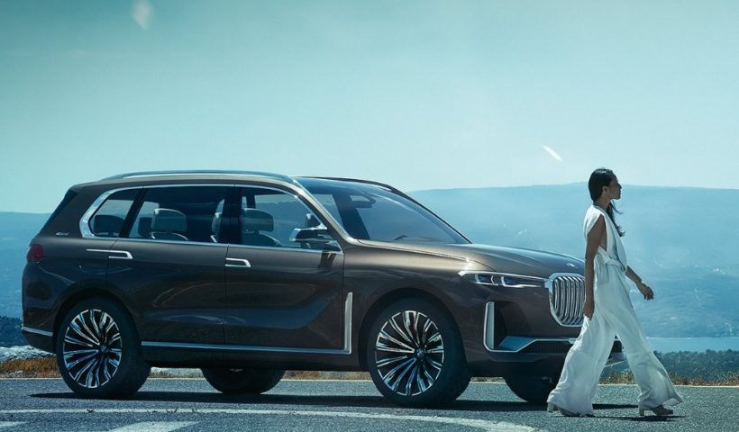BMW X7 One of the Biggest Luxury Cars Is Coming in November