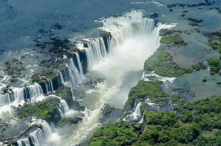Meet The Largest Waterfall of the World Iguazu Falls