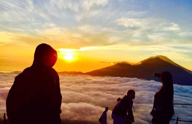 See How Beautiful the Sunrise from Mount Batur