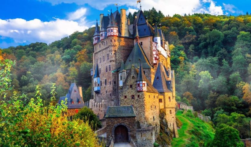 Eltz Castle Looks Like as if You Are in a Fairytale