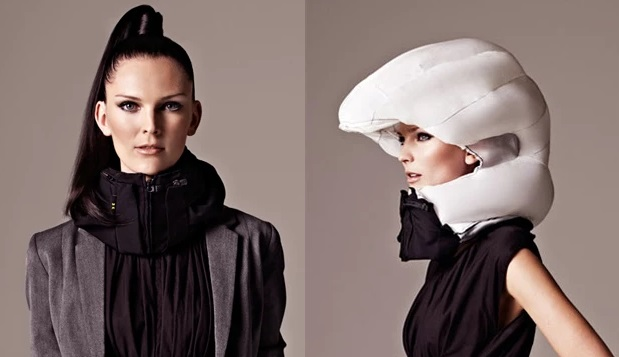 Hovding Is a New Bicycle Helmet with an Airbag