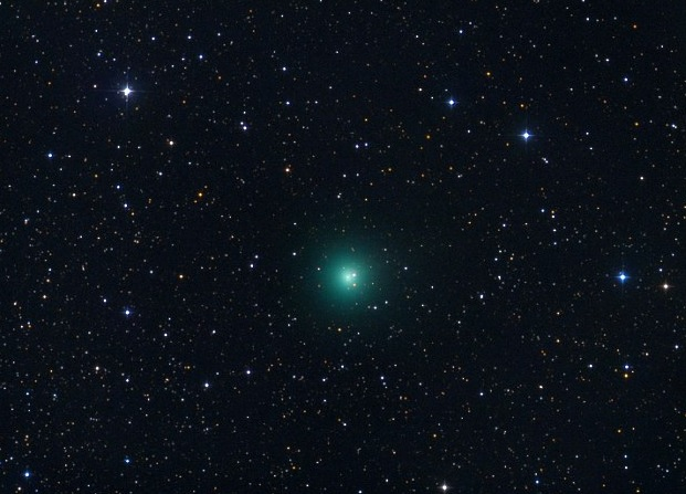 The Shining, Green Light in the Night Sky Is a Comet C2017S3