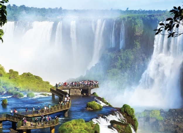 largest waterfall system in the world