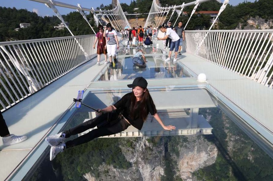 Meet The Tallest and Longest Glass Bridge in China