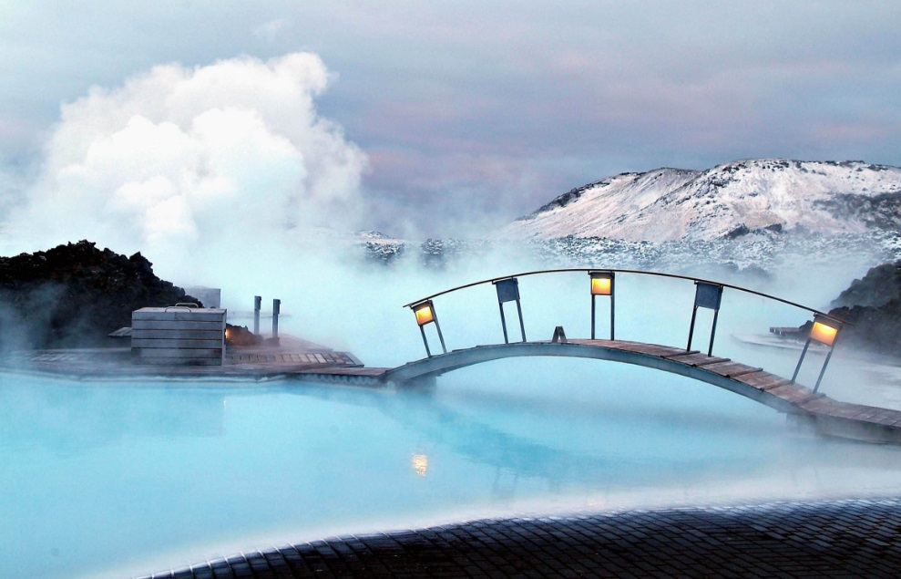 Blue Lagoon is approximately 20 km (12 mi) from Keflavík International Airport