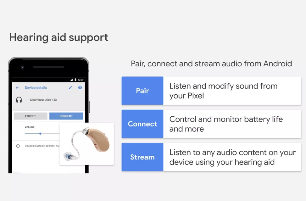 Google Is Bringing Native Hearing Aid Support for Android
