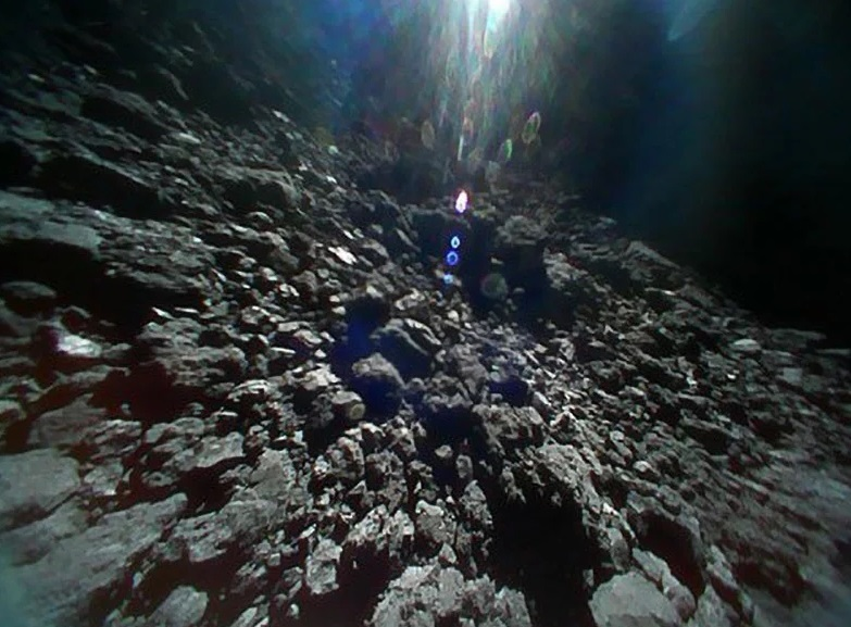 Japan Aerospace Exploration Agency has captured the first asteroid video