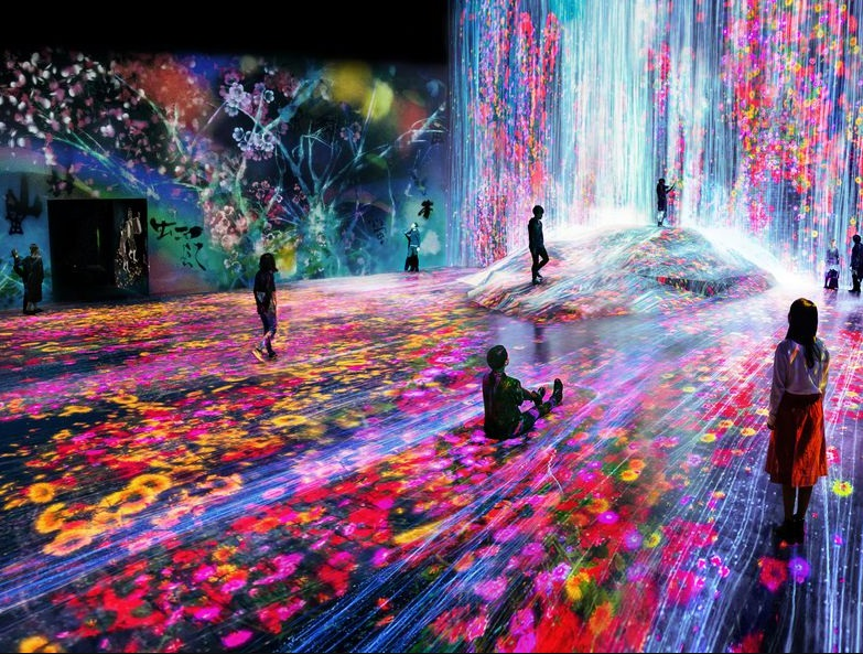 Digital Art Museum Seems to Be as You Are in Heaven
