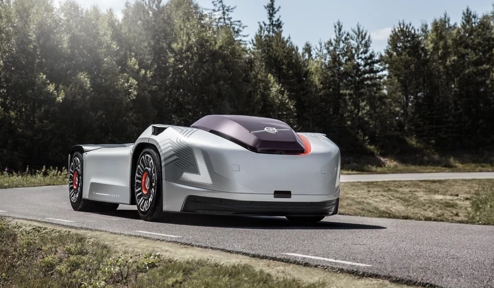 Volvo Announced New Self-Driving Electric Vehicle Concept