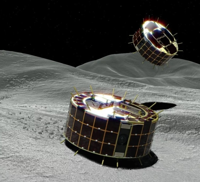 The First Asteroid Video that Has Been Realized by Japanese Rovers