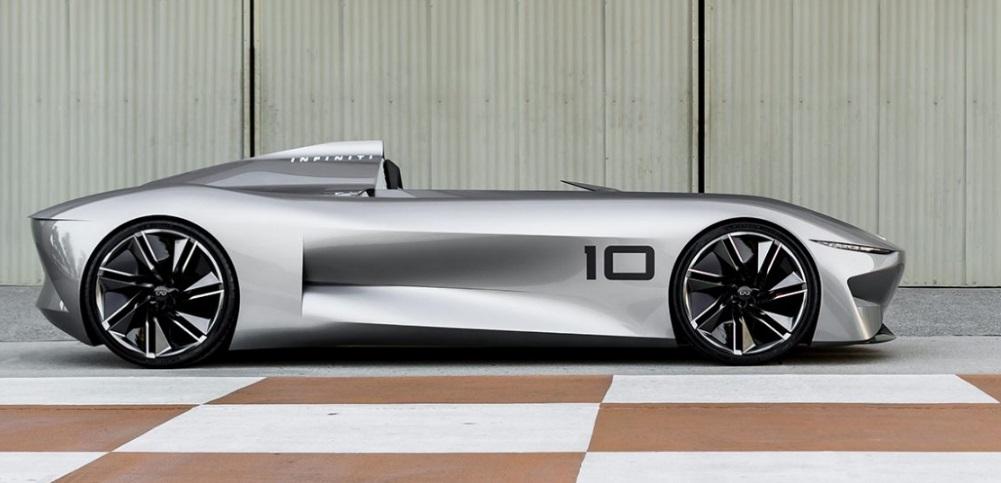Infiniti Prototype 10 concept re-imagines the classic speedster