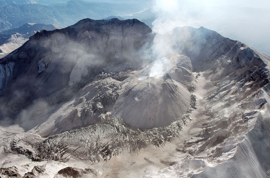 volcano isn't where it should be because it lies away from areas where magma is thought to bubble to the surface