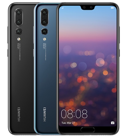 Huawei P20 Pro Smartphone with 3 cameras