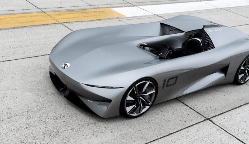 Fantastic Infiniti Prototype 10 Electric Concept Speedster