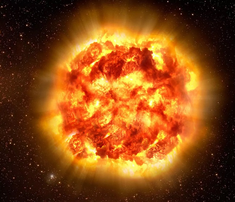 During a single second, the sun converts 4 million tons of matter to pure energy
