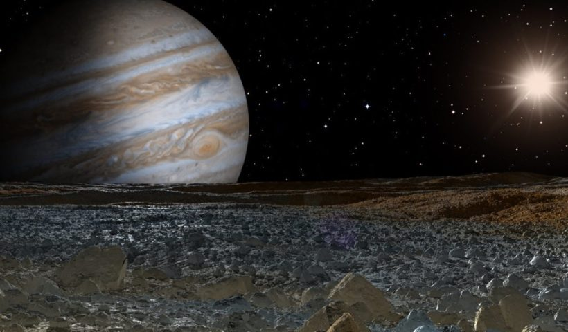 Magnetic Device Has found Saltwater Ocean on Europa Moon
