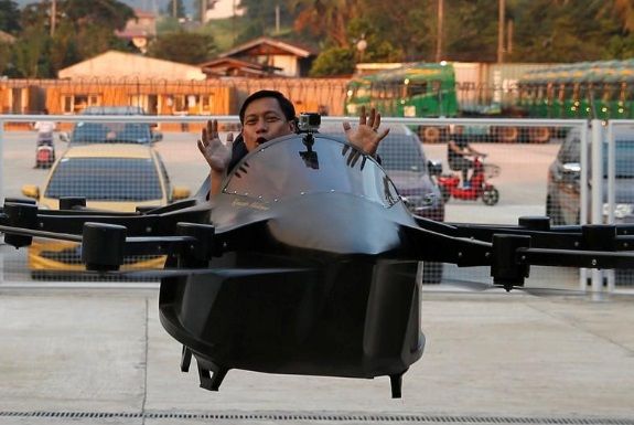 Philippine Inventor Created Flying Car and Tested It