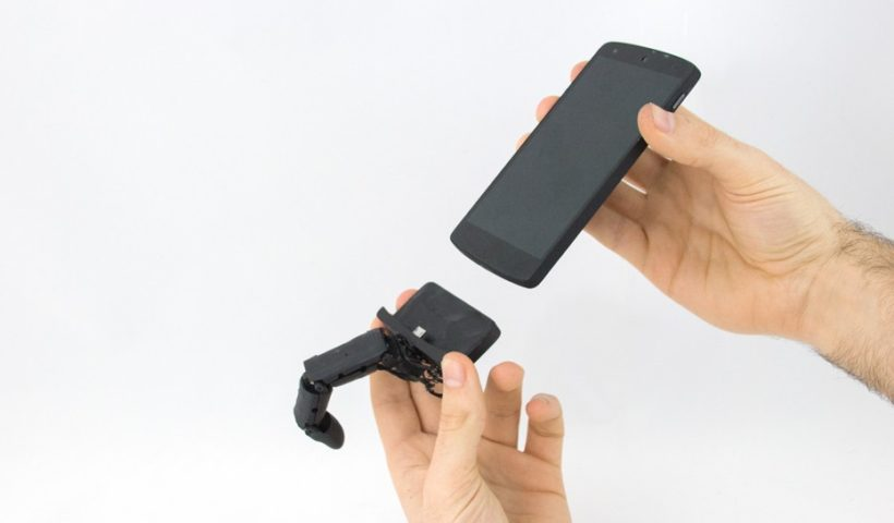 MobiLimb Is a Smartphone Device with Finger