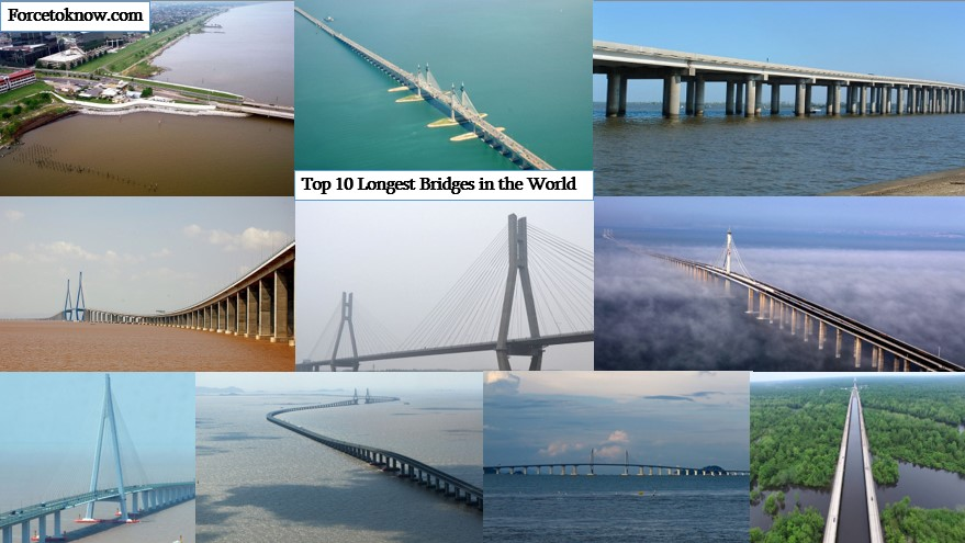 Top 10 Longest Bridges in the World
