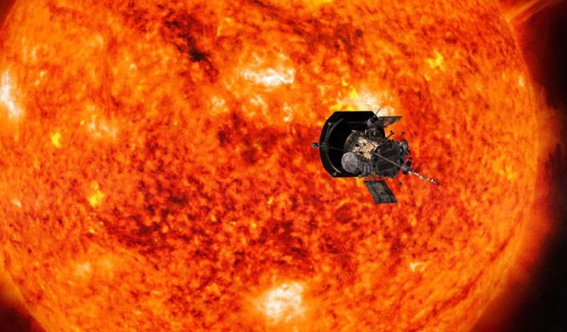NASA Spacecraft Parker Solar Probe Captured New Image on the Way Toward Venus