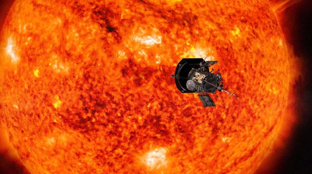NASA Spacecraft Parker Solar Probe Captured New Image on the Way Toward Venus