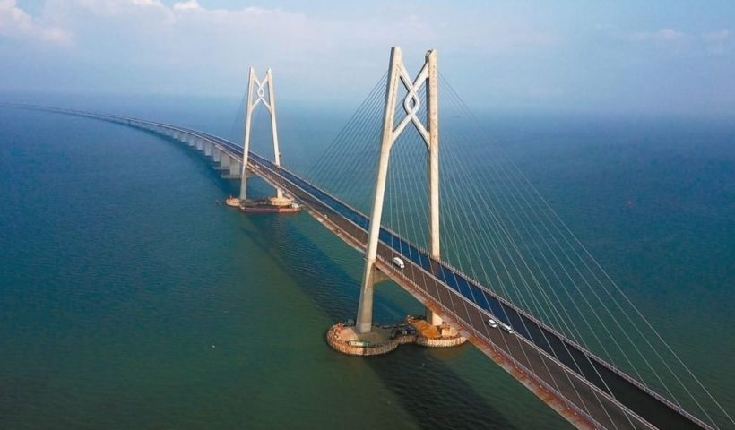 Hong Kong-Zhuhai Bridge - The World's Longest Bridge Has Opened