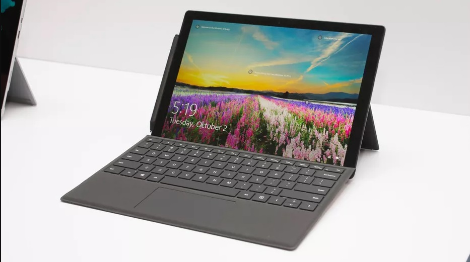 The specifications of Surface Pro 6