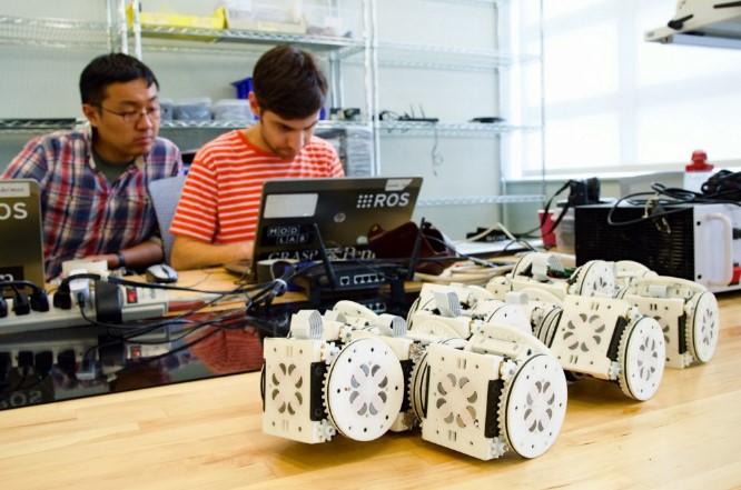 Modular self-reconfiguring robots