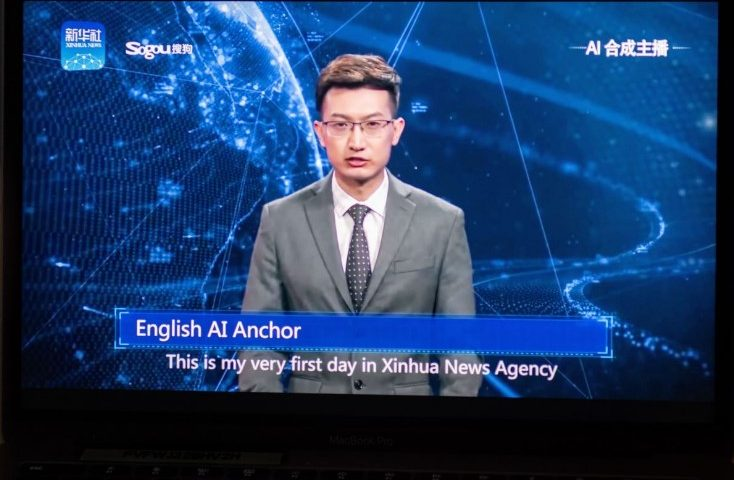 China AI Anchor