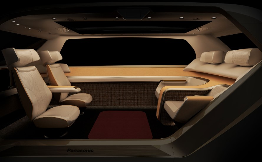Panasonic Reveals Future of Car Mobility Driven by Design