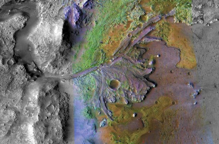 NASA Has Chosen Landing Site for Mars 2020 Rover - Jezero Crater