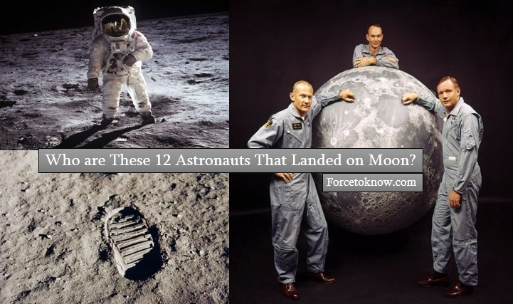 Who are These 12 Astronauts That Landed on Moon?