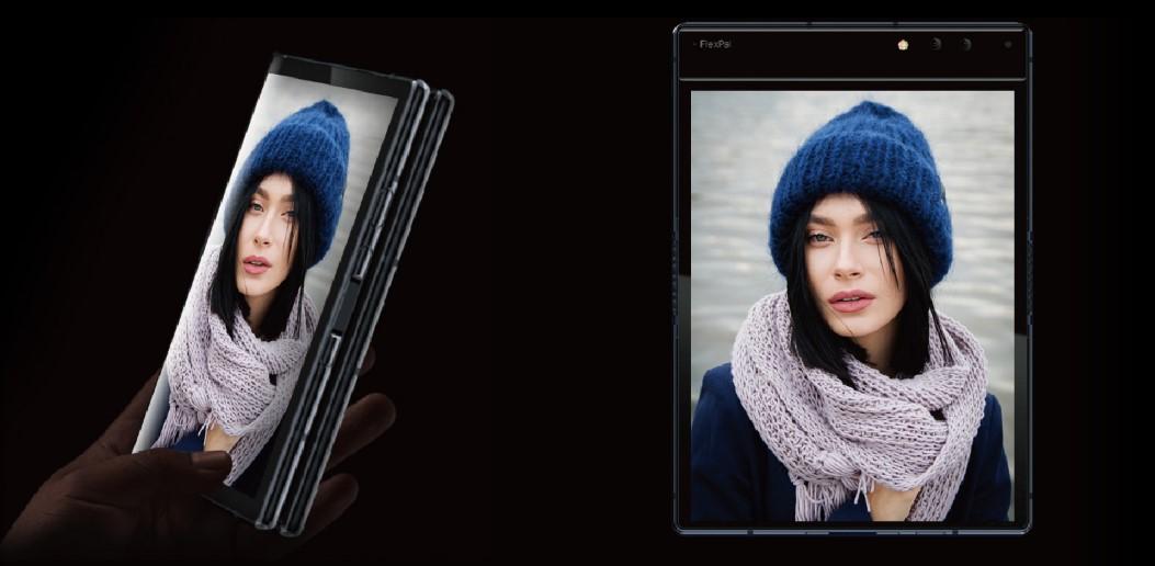 Foldable smartphone FlexPai