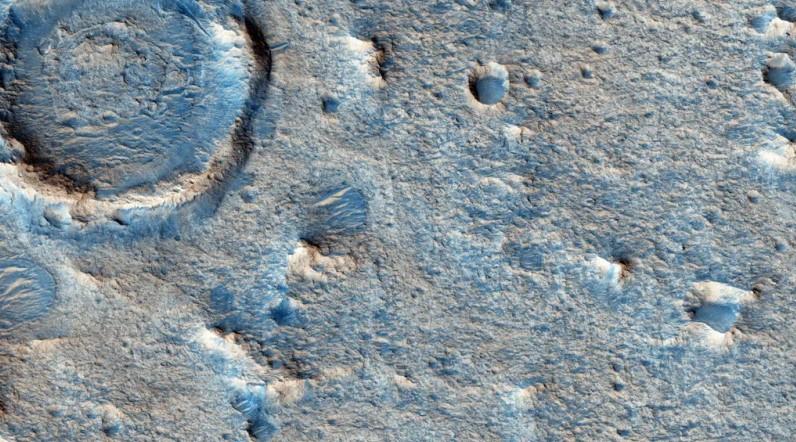 Closeup of Oxia Planum