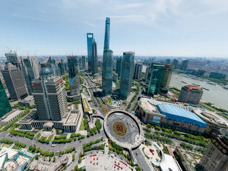195 Gigapixel Photo of Shanghai